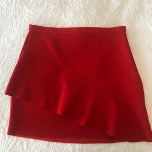 Red Topshop Skirt